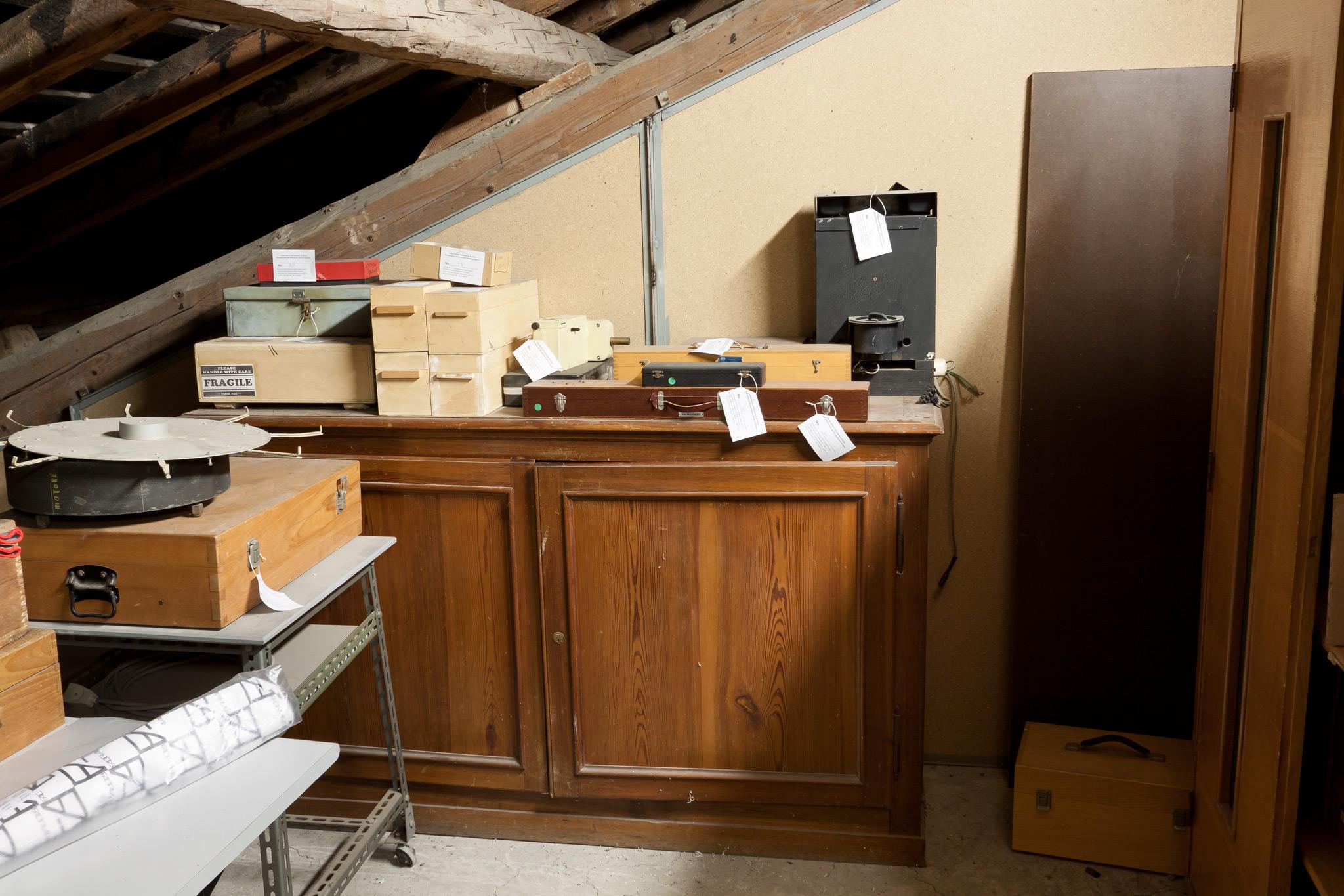 Ricognizione del patrimonio storico moderno dell for Stanza sopra il garage
